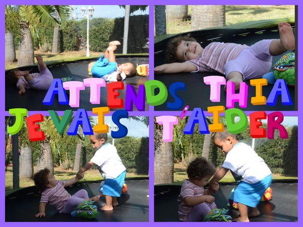 activit trampoline thia et kerylian